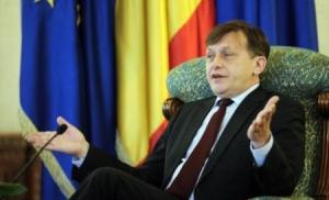 Crin  Antonescu președintele interimar. Rețineți, doar INTERIMAR