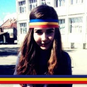 Sabina, o elevă care mie una mi-a dat o lecție de adevărat patriotism.