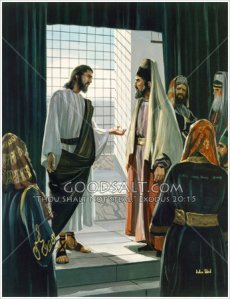 Isus vorbește cu fariseii