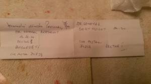 Complotiștii i-au dat elevului  adresa unde trebuia trimisă anonima